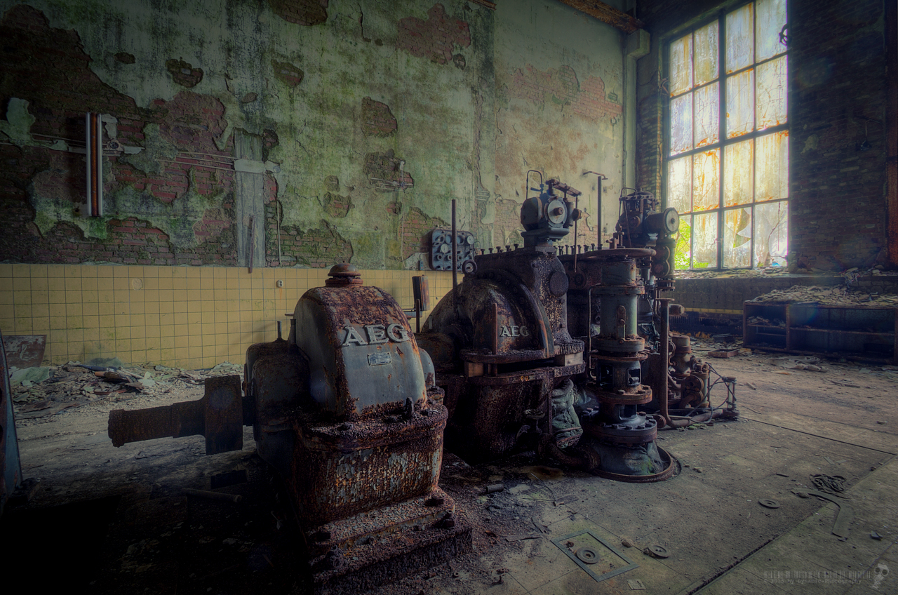 Urbex Abandoned Paperworks